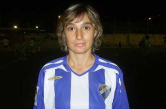 Isa Guerrero, icono del Atl�tico M�laga.