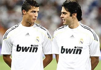 Cristiano y Kak�, los dos fichajes estrellas del Real Madrid