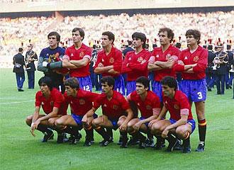 �ste fue el once que no pudo traer la Eurocopa del 84 para Espa�a al caer derrotados con Francia en Par�s