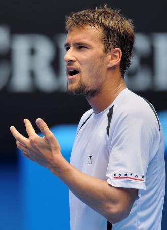 Marco Chiudinelli, en el pasado Open de Australia.