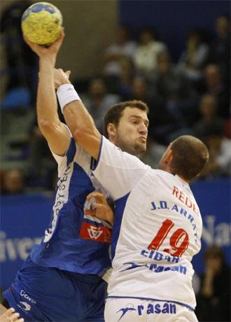 Jurkiewicz, en un partido contra el Arrate.