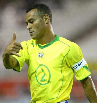 Caf�, en una imagen de archvo de cuando jugaba en la selecci�n brasile�a.