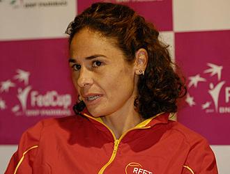 Vivi Ruano podr�a anunciar su despedida del tenis al t�rmino de esta temporada.