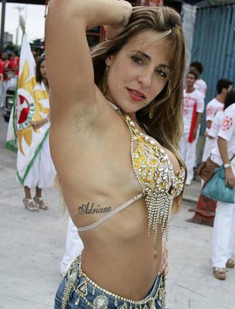 Joana Machado, ex novia de Adriano
