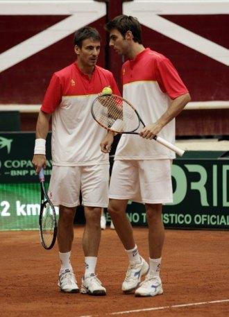 Tommy Robredo y Marcel Granollers, la dupla de Albert Costa.