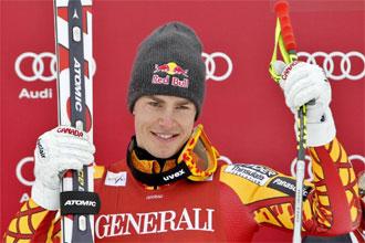 Erik Guay consigue la primera victoria de su carrera en el Supergigante de Kvitfjell.