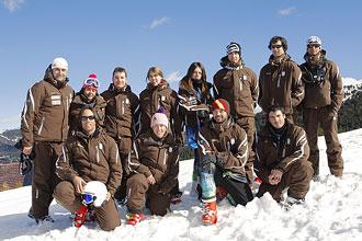 El equipo paral�mpico espa�ol que competir� en los Juegos Paral�mpicos de Vancouver.