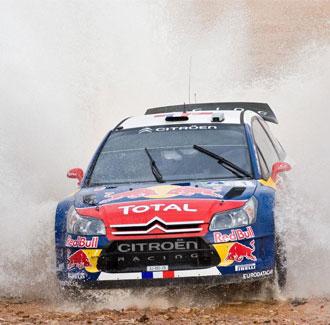 Loeb consigue con esta su 55� victoria en WRC