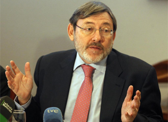Lissavetzky durante una conferencia.