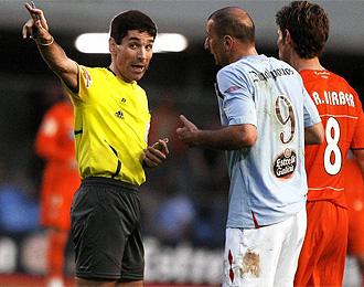 Papadopoulos fue expulsado contra el Recreativo de Huelva.