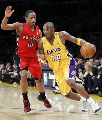 Kobe Bryant, ante Demar DeRozan