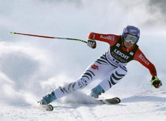 Maria Riesch fue la m�s r�pida en Garmisch