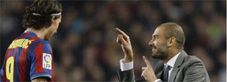 Guardiola e Ibrahimovic