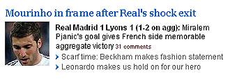 Informaci�n de The Times sobre Mourinho y el Real Madrid