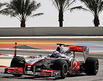 EL McLaren, con su pol�mico aler�n, sigue dando de qu� hablar.