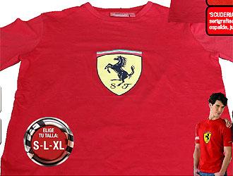 Llévate con MARCA la camiseta de Ferrari - MARCA.com 4b5fbcdf153