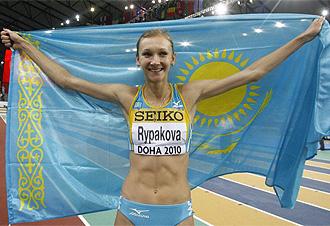 Rypakova celebra su triunfo