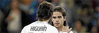 Fernando Gago y Gonzalo Higua�n