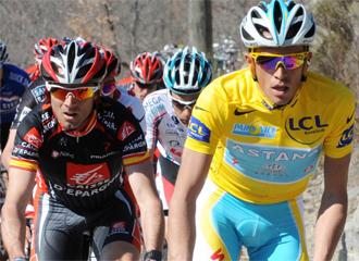 Valverde y Contador, frente a frente