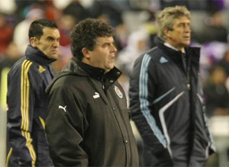 On�simo, en el partido ante el Madrid.