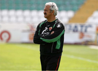 David Vidal, durante su etapa como entrenador del Elche