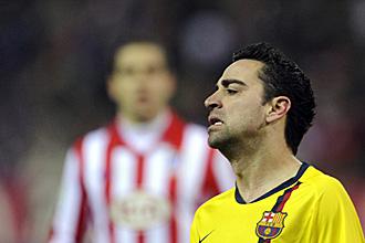 Xavi se pierde el choque ante el Stuttgart