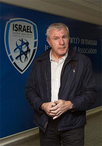Luis Fernández, nuevo entrenador de la selección israelí