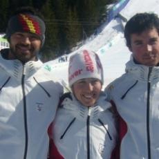 Los ojos de nuestros esquiadores paralímpicos