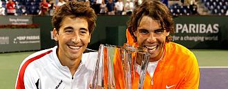 Marc L�pez y Rafa Nadal
