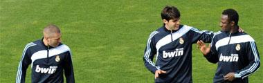 Entrenamiento de hoy del Real Madrid