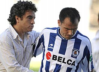 Gerardo jugaba en la Real hasta la temporada pasada