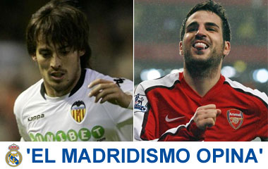 Silva y Cesc