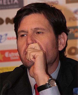Mateo Alemany, durante una rueda de prensa