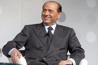 Silvio Berlusconi, presidente del Milan, en una imagen de archivo