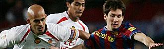 Nunes y Messi