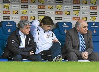 Pochettino, en el partido ante el Sporting.