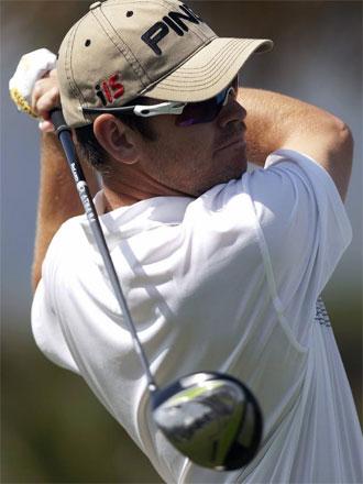 Louis Oosthuize golpea en el Open de Andaluc�a