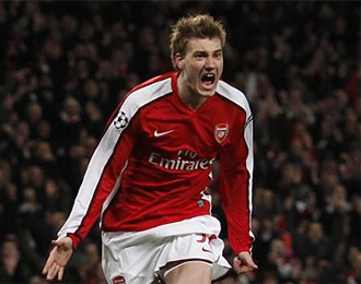 Bendtner es una de las grandes perlas de los londinenses.