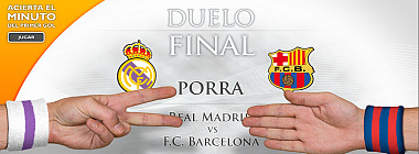 Porra Real Madrid-Barcelona