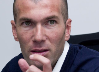 Zidane, durante la entrevista al diario MARCA.