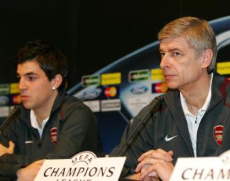 Wenger ha protegido a Cesc desde el inicio de su carrera.