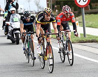 Boonen, Cancellara y Flecha se volver�n a ver las caras una semana despu�s.