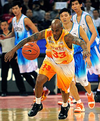 Marbury, en su etapa en el baloncesto chino