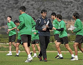 Garitano ya ejerce como entrenador del Castell�n.