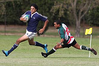 Mart�n Bustos Moyano fue el h�roe de los 'Pampas XV' con sus tres ensayos ante el conjunto surafricano