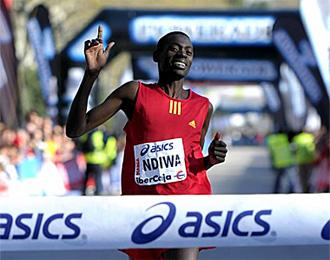 Allan Ndiwa se impuso en la categor�a masculina.