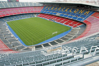 Vista panor�mica del Camp Nou.