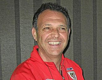 Joaqu�n Caparros es consciente de d�nde podr�a llegar su equipo de ganar en Mestalla.