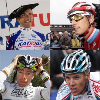 'Purito' Rodríguez, Andy Schleck, Cadel Evans y Philippe Gilbert son algunos de los favoritos al triunfo.