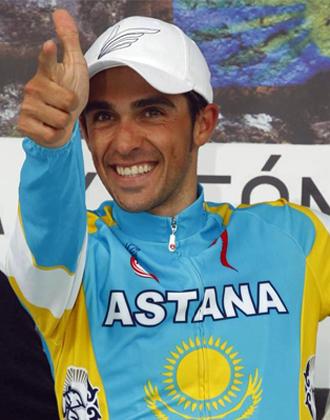 Contador gana su tercera Vuelta a Castilla y León.